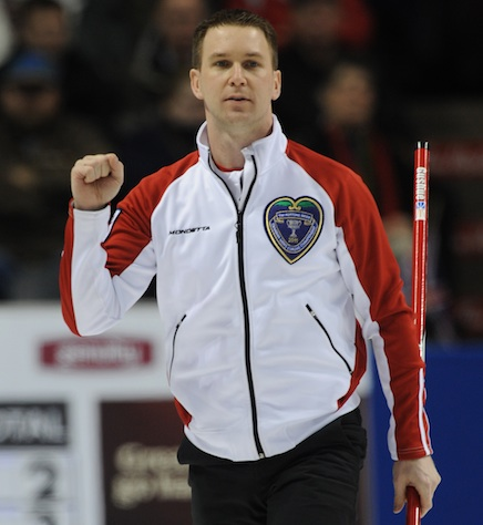 Brad Gushue (Photo Michael Burns)