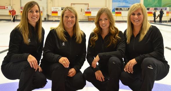 Crystal Webster, Cathy Overton-Clapham, Geri-Lynn Ramsay and Samantha Preston (CCA Photo)