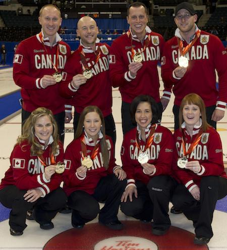 Canada's teams for Sochi. (Photo, CCA/Michael Burns)