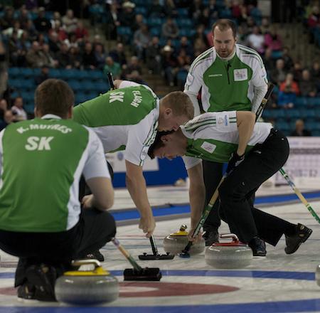 Team Saskatchewan just fell short of the playoffs after a loss to New Brunswick on Friday.