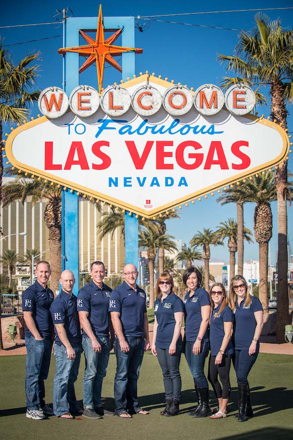 Canada's two Olympic teams have arrived in Las Vegas for the 2014 WFG Continental Cup. (Photo, Chris Holloman)