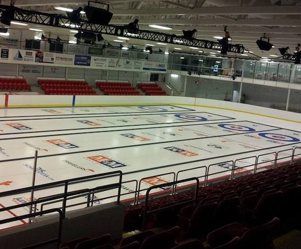 Queens Place Emera Centre in Liverpool, N.S., is ready for the country's top junior curlers.