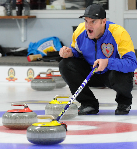Alberta's Darren Moulding hit the win column on Sunday at the Rideau CC. (Photo, CCA/Claudette Bockstael, Studio C Photography)