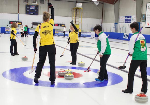 Everest will be the title sponsor for the Canadian Senior Men's and Women's Curling Championships for the next three years. (Photo, James MacKenzie)