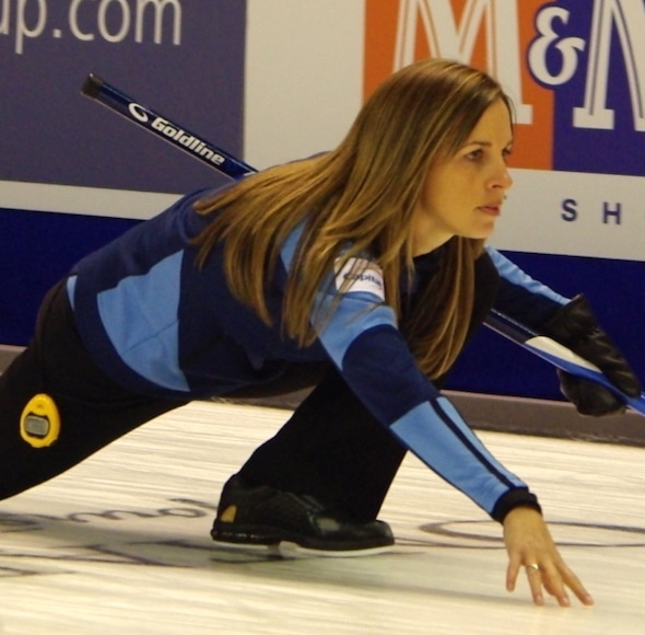 Calgary's Crystal Webster is looking for a strong result this weekend in Lloydminster, Alta.