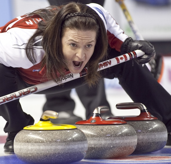Heather Nedohin's team from Sherwood Park, Alta., is looking to make a leap up the CTRS standings this weekend in Red Deer, Alta. (Photo, CCA/Andrew Klaver)