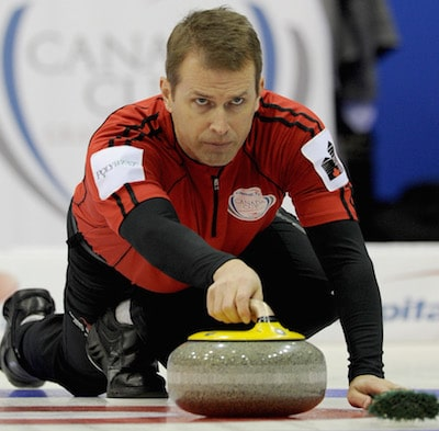 Winnipeg's Jeff Stoughton picked up his first victory of the 2014-15 season on the weekend. (Photo, CCA/Michael Burns)