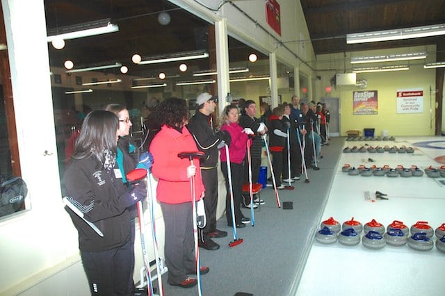 At the Pembroke Curling Centre, the Getting Started program resulted in two new leagues and a waiting list for instructor training (Photo courtesy Pembroke Curling Club)