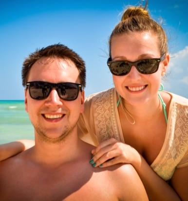 Fredrik Lindberg and Alison Kreviazuk, during a recent trip to Mexico. (Photo, courtesy Alison Kreviazuk)
