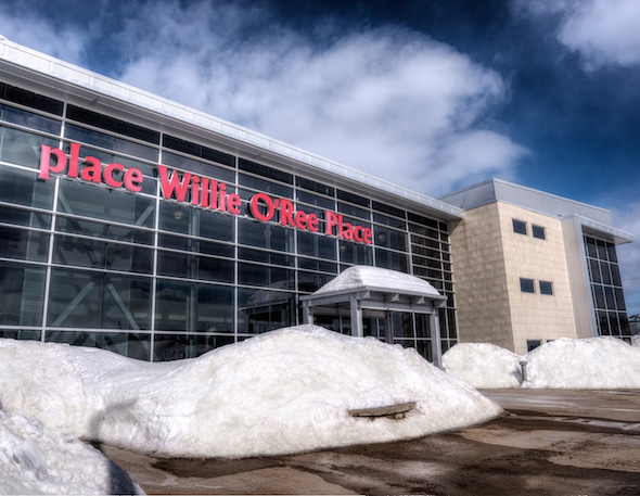 Willie O'Ree Place in Fredericton will be one of the host locations for the 2017 Everest Canadian Seniors.