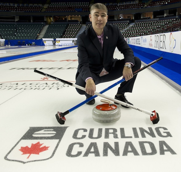 Greg Stremlaw, Curling Canada's former CEO, is the new head of CBC Sports, it was announced today. (Photo, Curling Canada/Michael Burns)