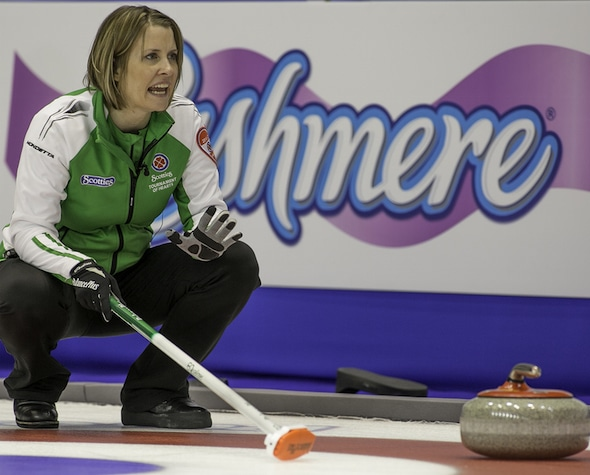 Stefanie Lawton Saskatoon will be looking for her sixth title at her hometown stop on the World Curling Tour. (Photo, Curling Canada/Andrew Klaver)