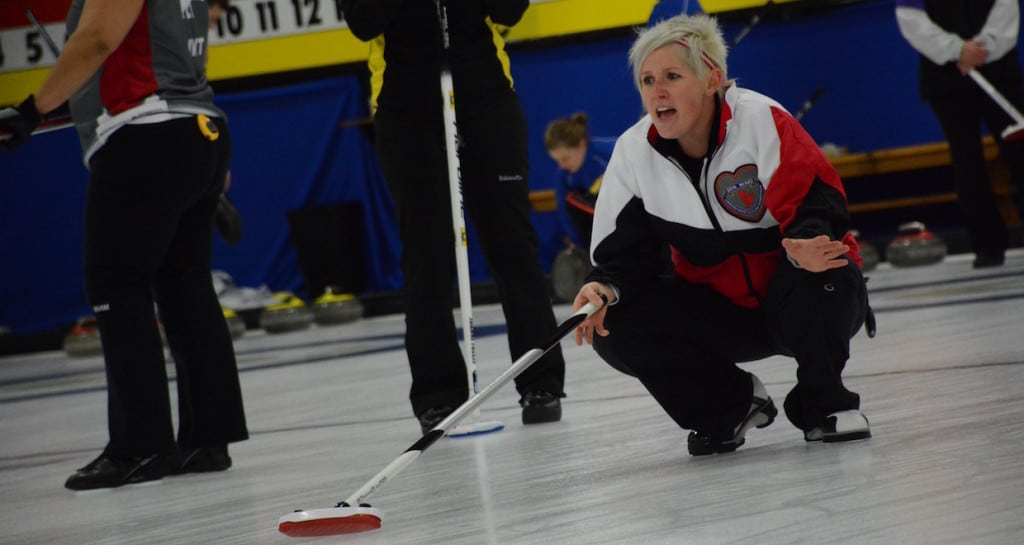 Ontario's Brit O'Neill (Curling Canada/Sonja DiMarco Photo)