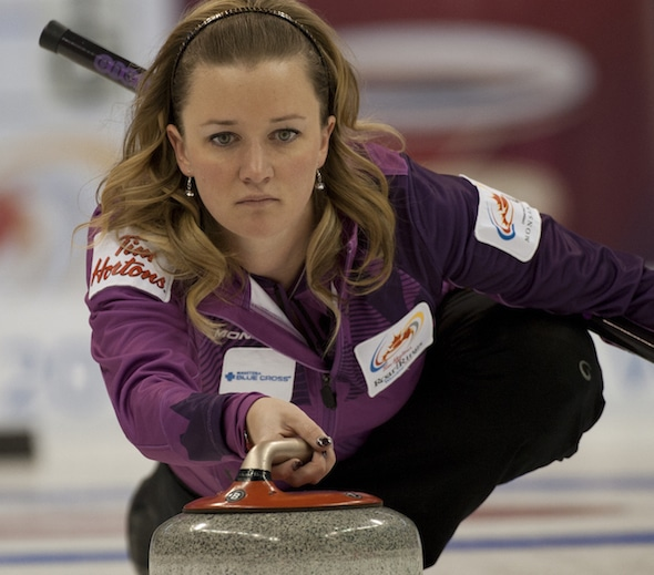 Chelsea Carey is headed back to the Scotties after winning the Alberta title on Sunday. (Photo, Curling Canada/Michael Burns)