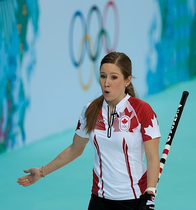 Sochi Ru.Feb10-2014.Winter Olympic Games.Team Canada,third Kaitlyn Lawes.WCF/CCA/michael burns photo