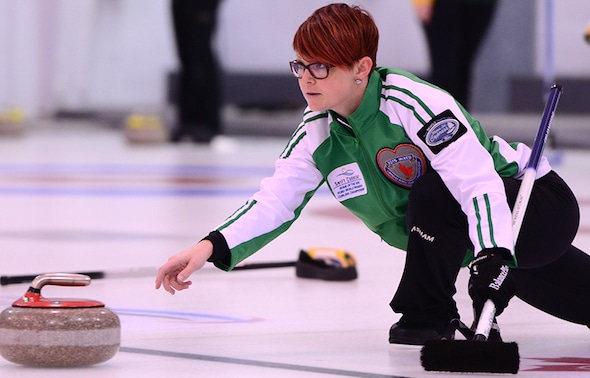 Regina's Jolene Campbell won her first Saskatchewan women's title on Sunday, and will play at the 2016 Scotties Tournament of Hearts in Grande Prairie, Alta.