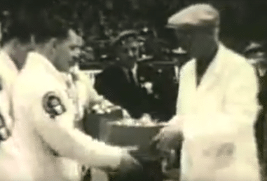 The Richardsons' first Brier triumph, in 1959. Click on the photo to watch video of that victory.