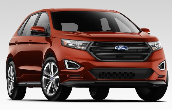 A two-year lease on a 2016 EcoBoost powered Ford Edge Sport SUV will be awarded to the winners of the 2016 Ford Hot Shots skills competition.