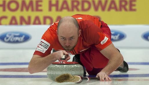 2014 Home Hardware Canada Cup of Curling, Camrose, B.J.Neufeld, CCA/michael burns photo