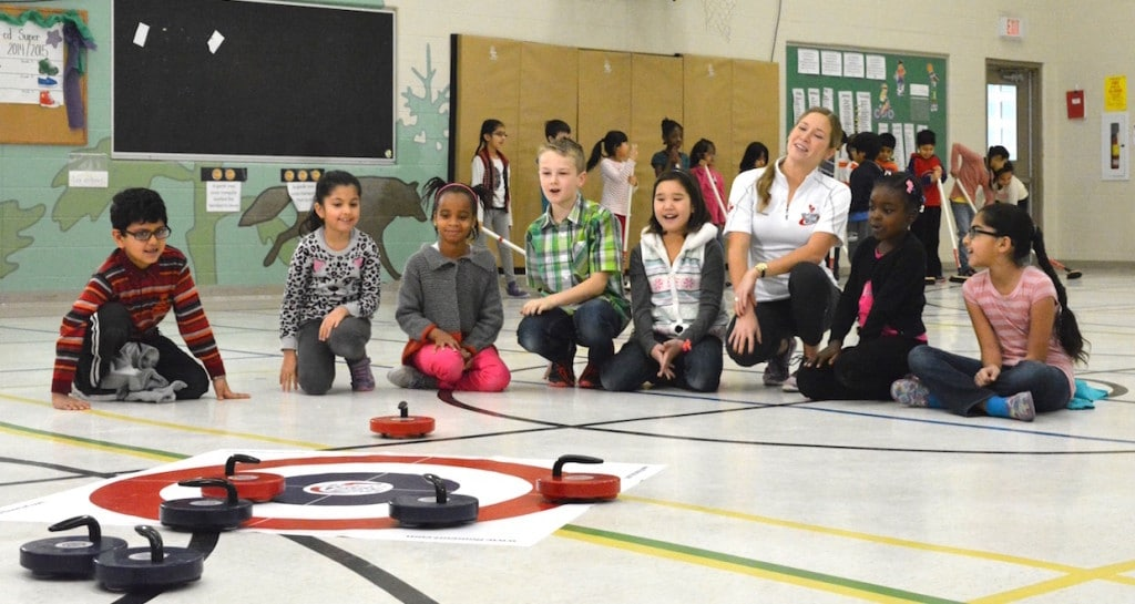 Rocks & Rings program with Kaitlyn Lawes (Rock Solid Productions/Rocks & Rings photo)