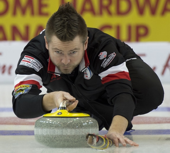 Mike McEwen will represent Manitoba for the first time at the 2016 Tim Hortons Brier. (Photo, Curling Canada/Michael Burns)