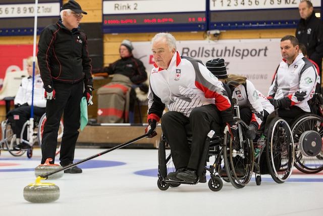World Wheelchair Curling Championships, Lucerne, Switzerland