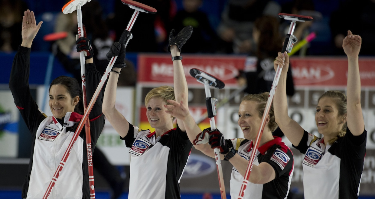 Swift Current Sk, March 25, 2016 Ford World Woman's Curling