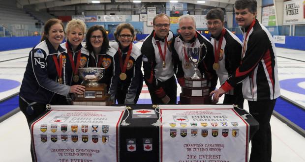 Ontario men and Nova Scotia women win gold at Everest ...