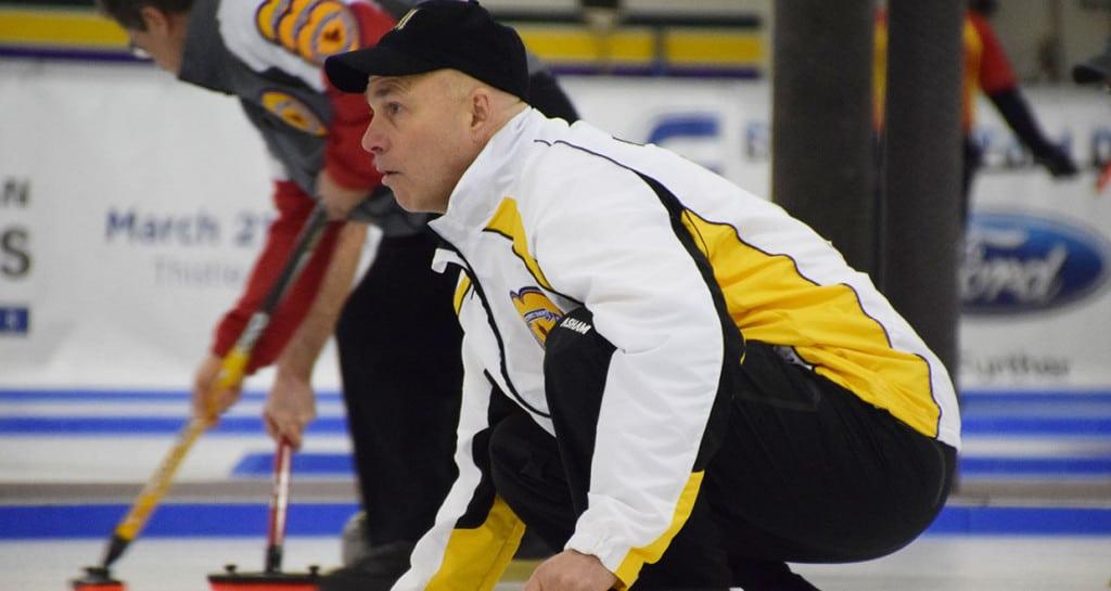 Manitoba's Randy Neufeld (Curling Canada photo)