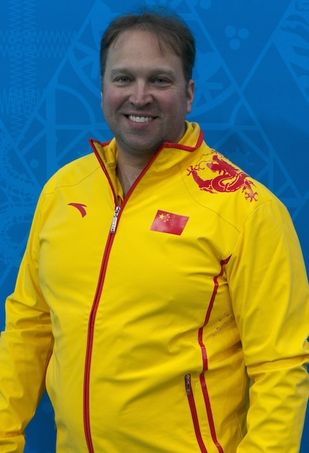 Marcel Rocque will be guiding the Chinese national men's team again at the 2018 Winter Olympics. (Photo, World Curling Federation/Richard Gray)