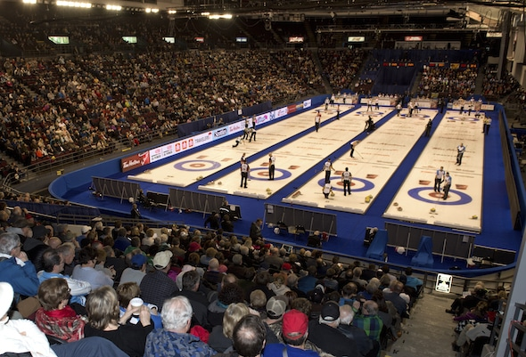 Ottawa Ont.Mar 10, 2016.Tim Hortons Brier.Curling Canada/ michael burns photo