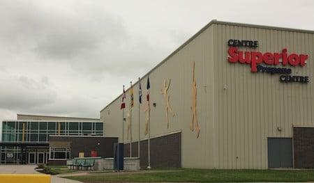 The Superior Propane Centre in Moncton. (Photo, Greg Weston)