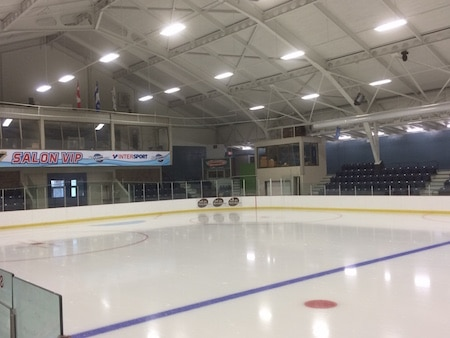 Playoff games in the 2018 Canadian Juniors will be played at l'aréna de Grand-Mère. (Photo, Alain Boucher)