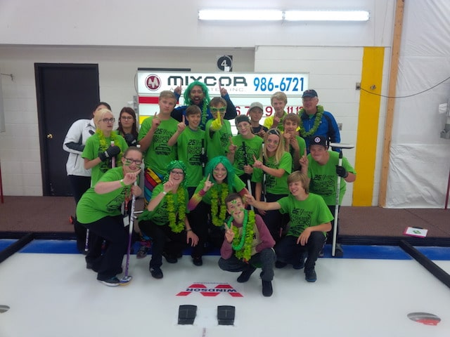 Oh, and did I mention, my green group won the Great Shootout?! (Photo courtesy of Simon Barrick)