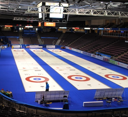 The South Okanagan Events Centre played host to the 2013 World Financial Group Continental Cup. (Photo, courtesy South Okanagan Events Centre)