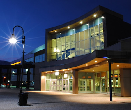 The South Okanagan Events Centre in Penticton, B.C. (Photo, courtesy South Okanagan Events Centre)