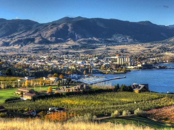 Penticton, B.C., will welcome the 2018 Scotties Tournament of Hearts. (Photo, courtesy City of Penticton)