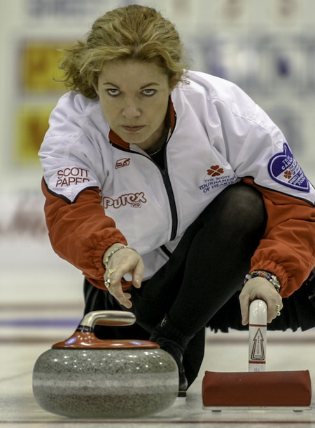Colleen Jones is the 15th curler to join Canada's Sports Hall of Fame. (Photo, Curling Canada/Andrew Klaver)