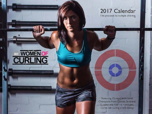 Scotland's Eve Muirhead is on the cover of the 2017 Women of Curling calendar. A portion of the proceeds will go to the Curling Canada Foundation.