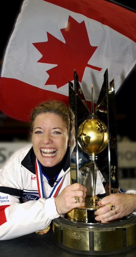 Colleen Jones is being inducted into Canada's Sports Hall of Fame. (Photo, Curling Canada/Michael Burns)