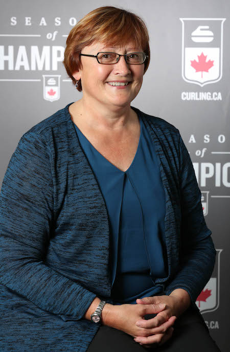 Pat Ray leaves Curling Canada with the admiration of all of her colleagues. (Photo, Curling Canada/Neil Valois)