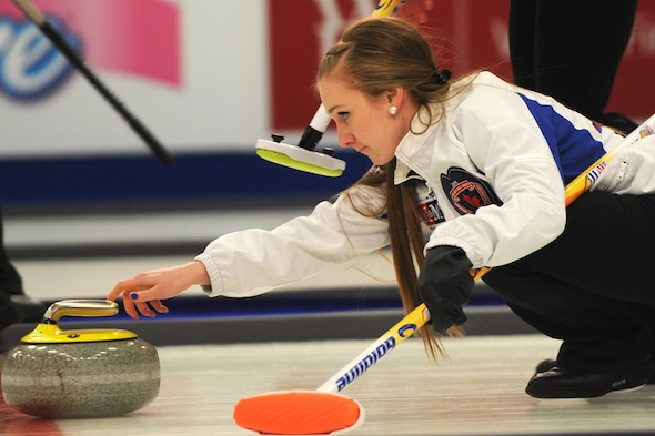 Corryn Brown's Kamloops, B.C., team won an international event on the weekend in China. (Photo, Curling Canada/Michael Burns)