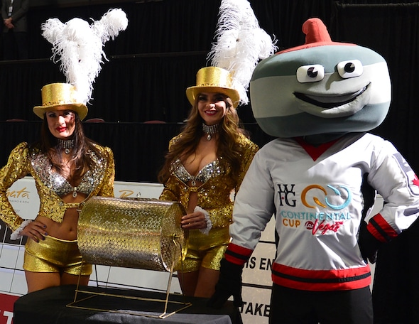 Las Vegas Nevada, Jan13, 2016.World Financial Group Continental Cup of Curling 2016.Open Ceremonies. Curling Canada / michael burns photo