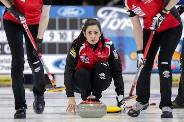Curling Canada Red Light Costs South Korea Win At Ford World Women S Curling Championship
