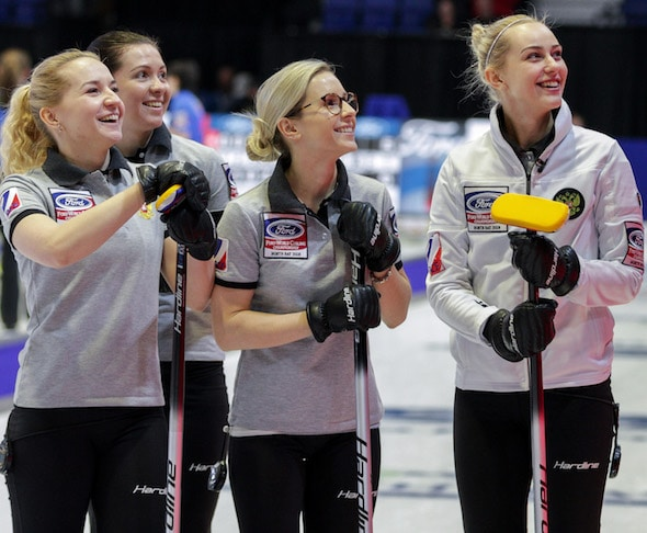 Curling Canada Russia Sweden Top Standings At Ford World Women S Curling Championship