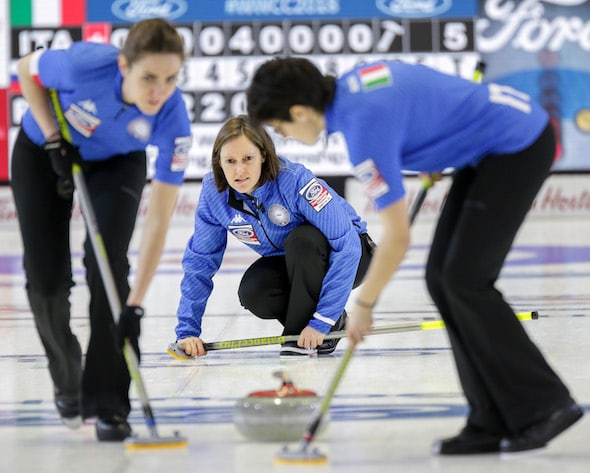 Italy topples Russia at Ford World Women's Championship | Curling Canada