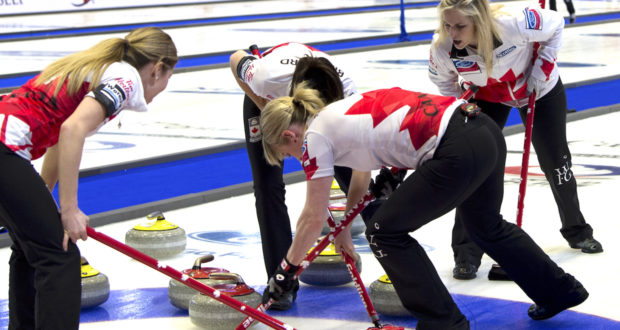 canada clinches  place   robin  ford worlds curling canada