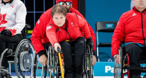 Canada didn't have an answer for Great Britain - Paralympic Winter Games PyeongChang 2018 © WCF / Céline Stucki