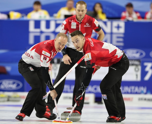 Playoff-bound Canada knocks off China at World Men's Championship | Curling Canada