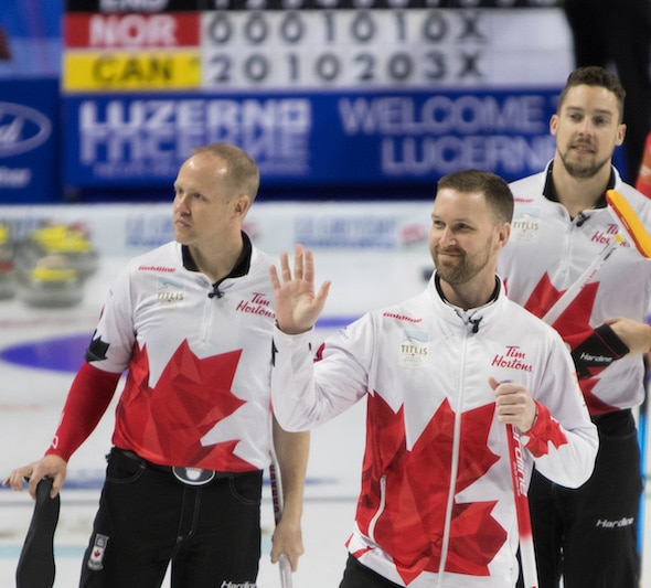 Fifth straight win for Team Canada at World Men's ...